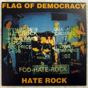 HATE ROCK cover squared