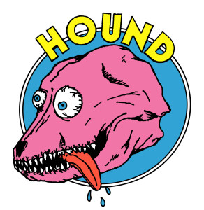 hound sticker