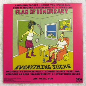 EVERYTHING SUCKS back copy